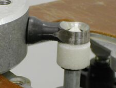 position of the grinding bit